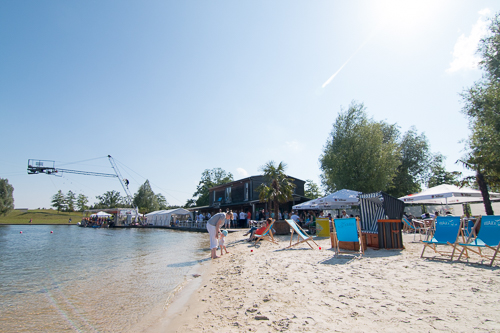 blick in den Wake Park
