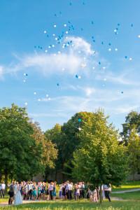 ballonfliegen auf hochzeit