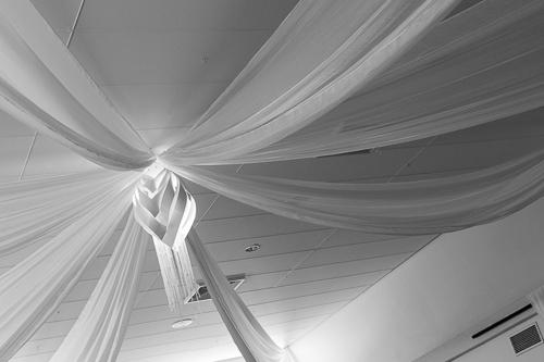 abgehangene Decke im Hoffmannhaus