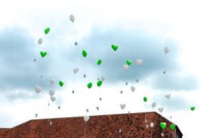 hochzeitsfeier in hannover ballons