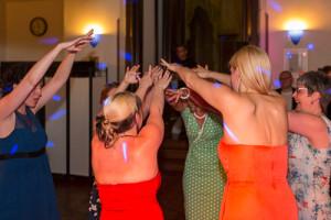 partytime auf wedding-party